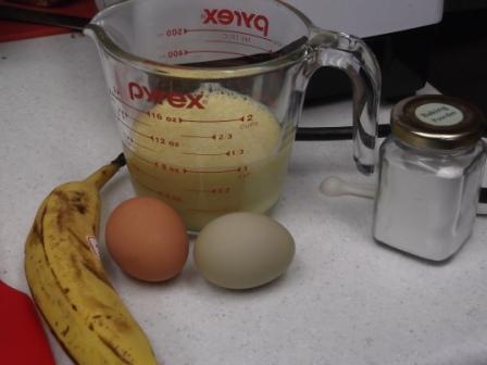 banana pancake ingredients