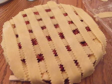 cherry pie top layer lattice
