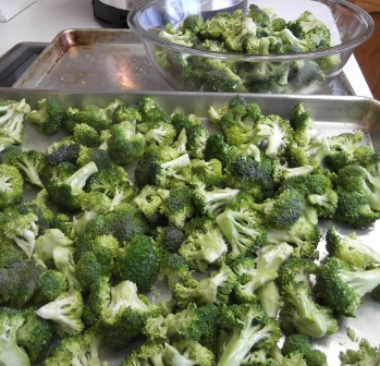 broccoli before roasting